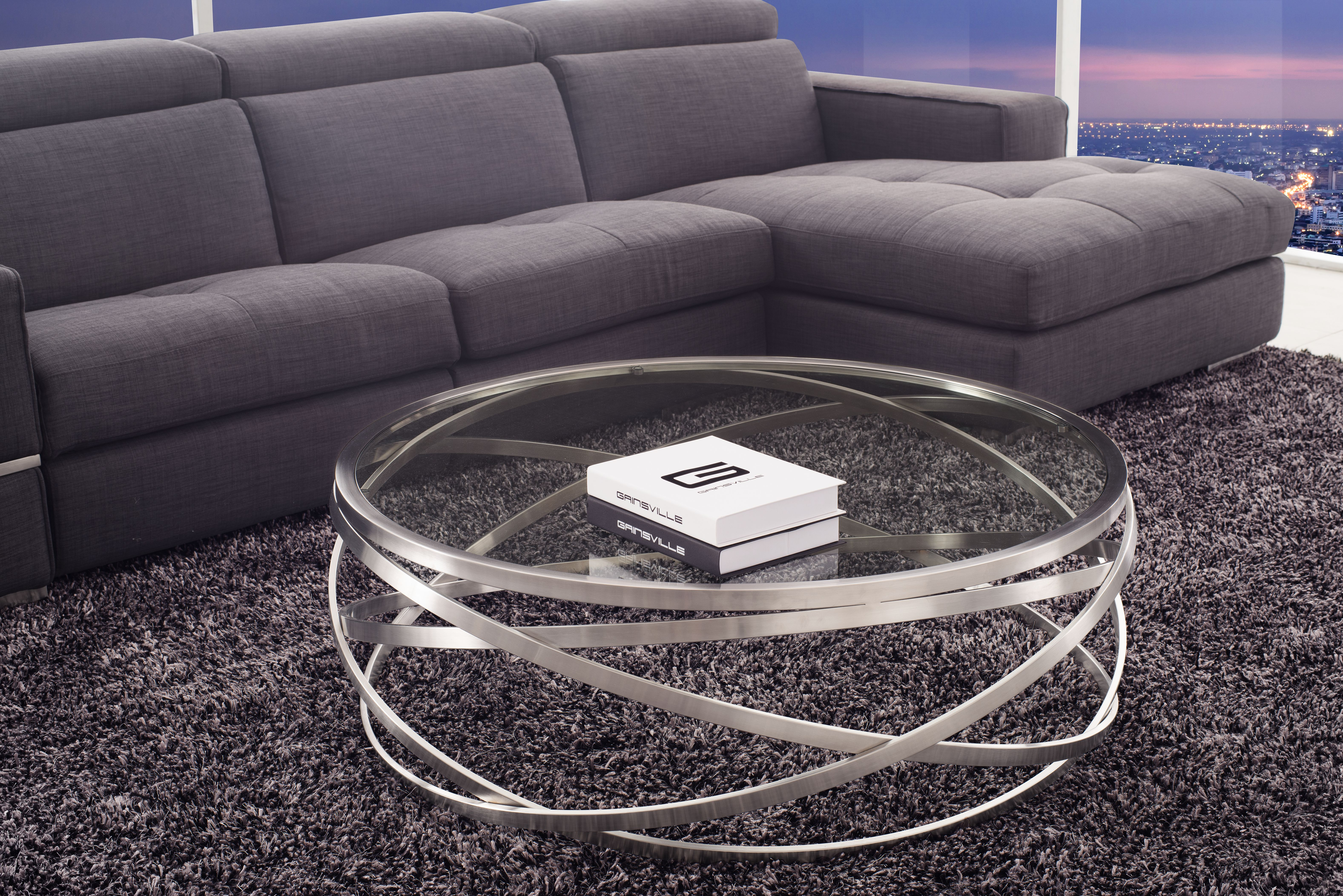 Boma Glass Coffee Table
